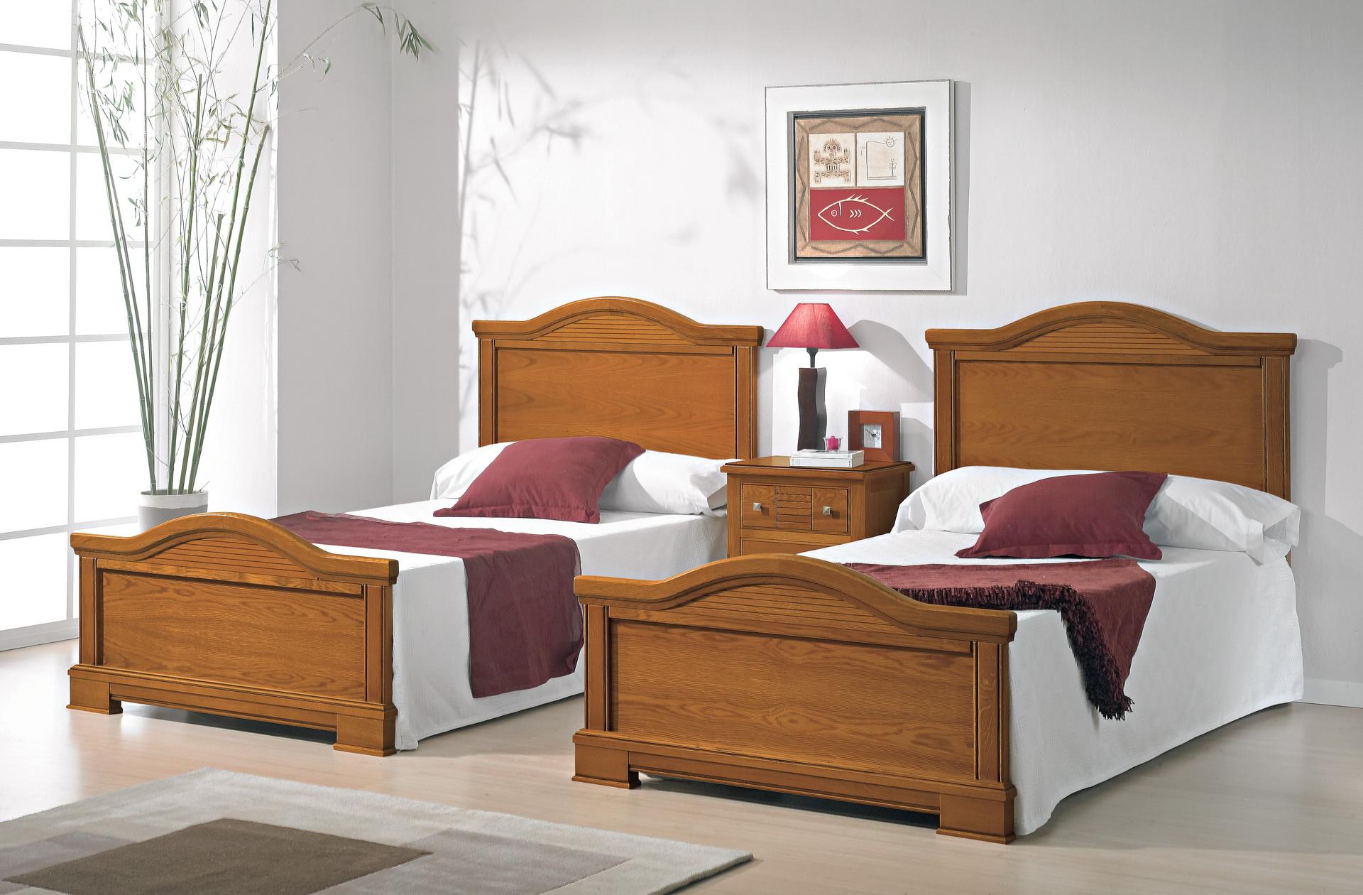 Dormitorios Roble y Castaño SERIE 600 by MRC (07)1K