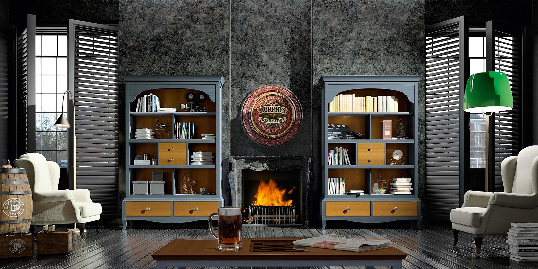 Salones compartir by grupo seys muebles anto n for Muebles seys