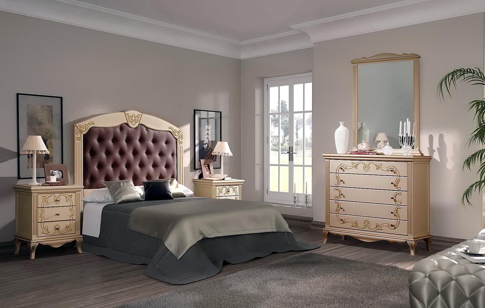 Meyli dormitorio talla a mano 20714 B