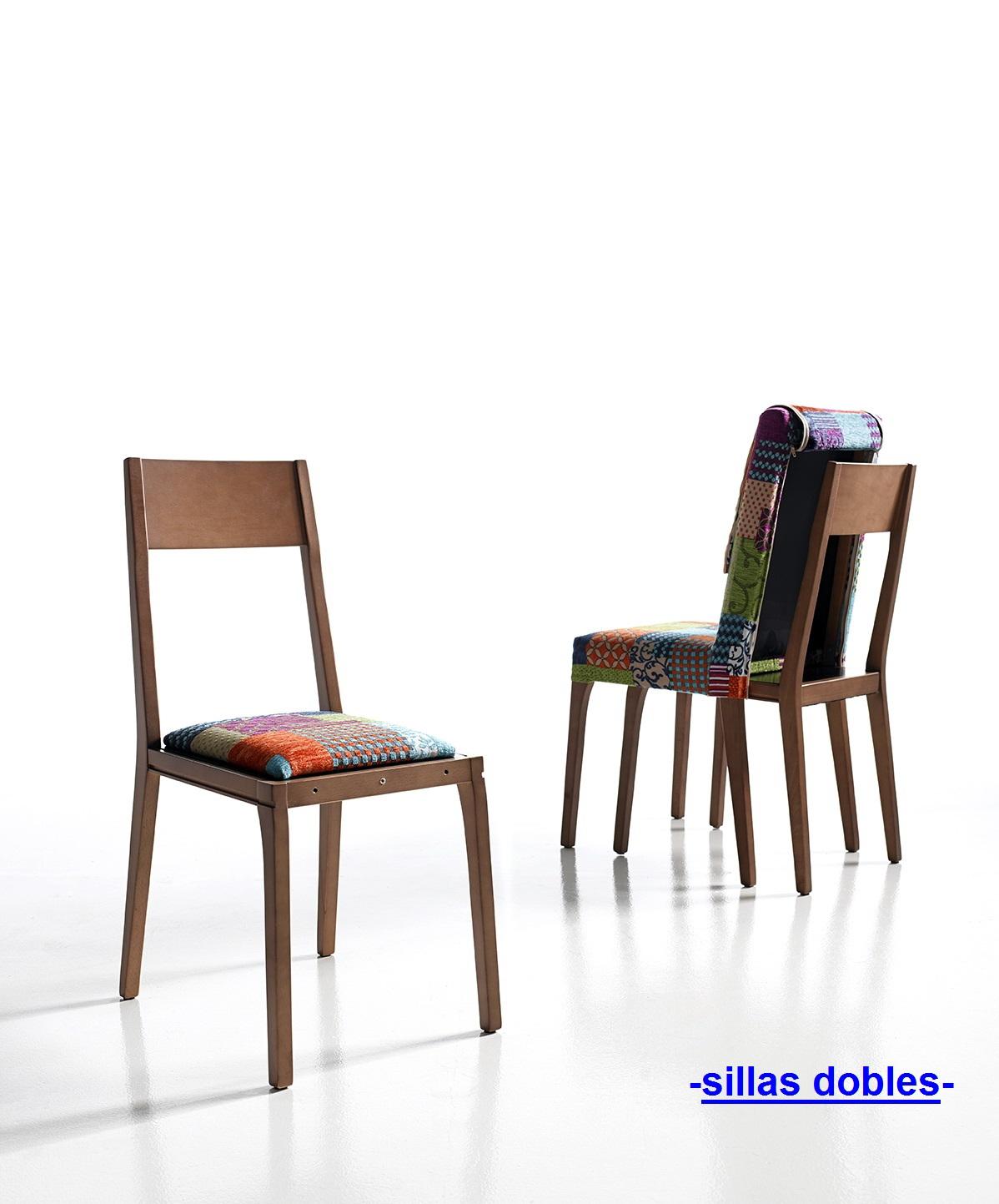 Sillas modernas dobles by Moya Andreu de venta en Muebles ...
