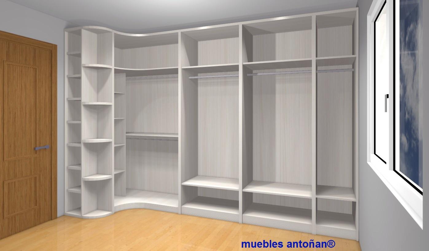 vista interior armarios rincon