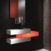 ZAFRA mueble entrada recibidor moderno con luz Dédalo masintex® en muebles antoñán® León