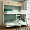 CAMA ABATIBLE habitación Juvenil P&C KIDS 5A abierta by Piñero y Cabrero en muebles antoñán® León