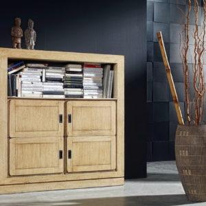 Mueble APARADOR Salón Estilo Colonial en madera PAG050 740LE by Ecopin en muebles antoñán® León