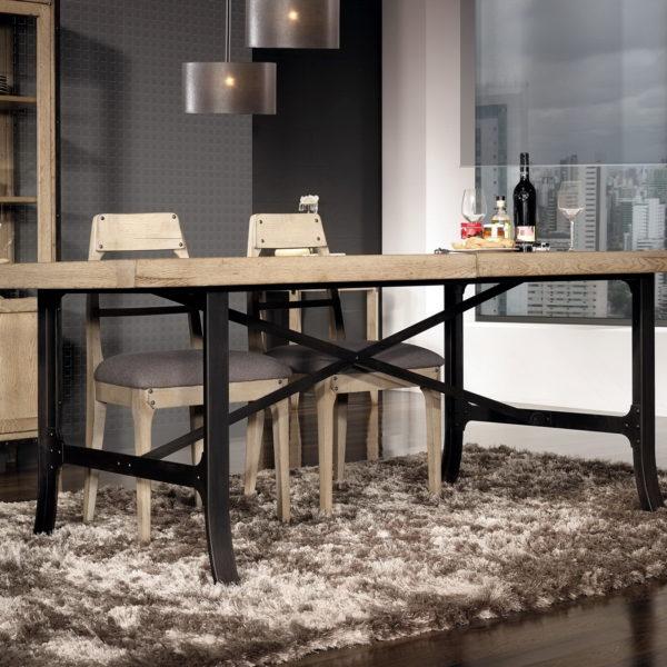 Dock sal n estilo industrial by antika muebles anto n for Muebles estilo industrial madrid
