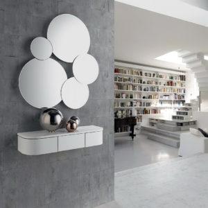 Mueble entrada moderno A-TIKU+MIA by Nacher® en muebles antoñán® León