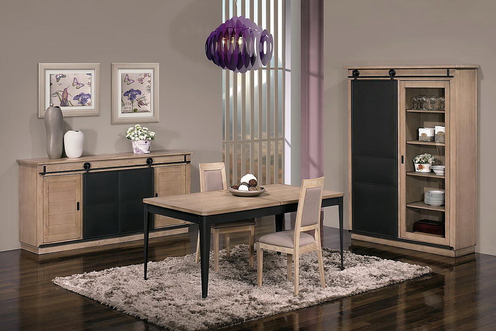 Loft sal n estilo industrial by antika muebles anto n - Salon estilo industrial ...