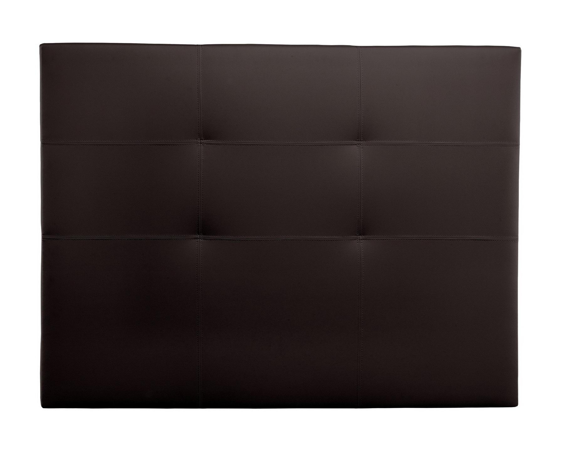 Cabecero Tapizado polipiel Tokio marron chocolate by Relax en muebles antoñán® León