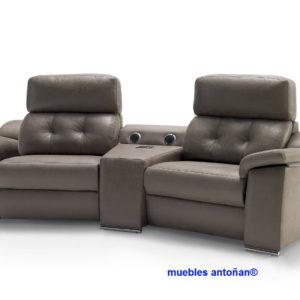 Coimbra sofá relax motorizado y con audio bluetooth® 003 by Verazzo Design en muebles antoñán® León