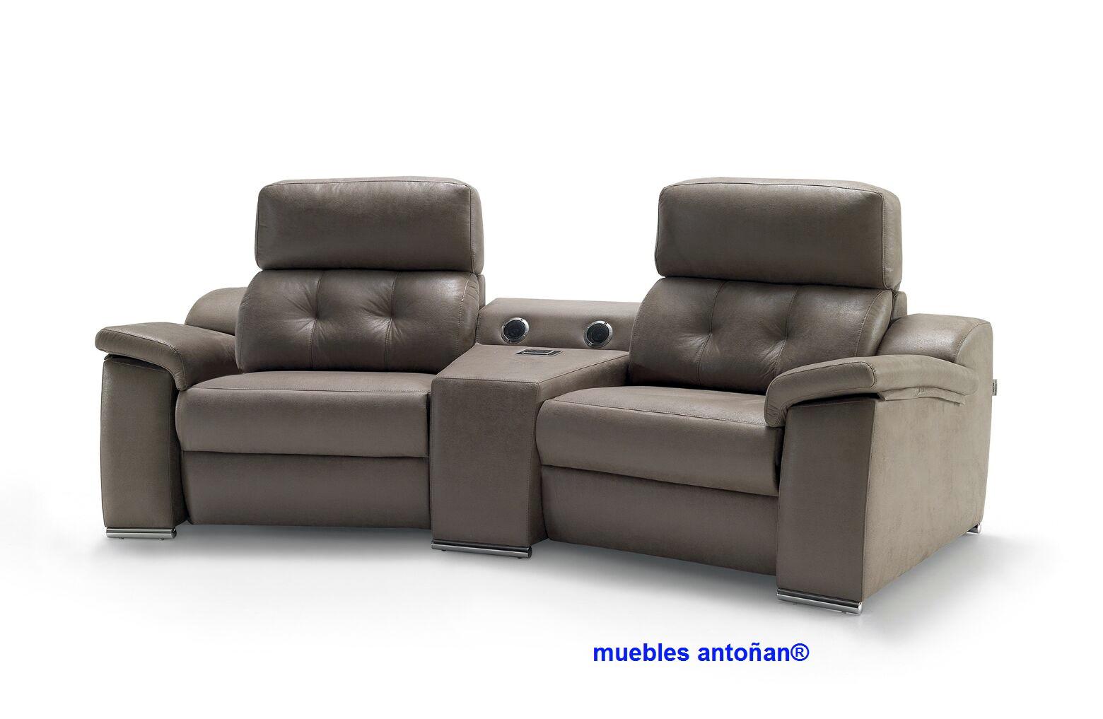 Coimbra sof relax motorizado by verazzo design muebles for Sofas relax con motor