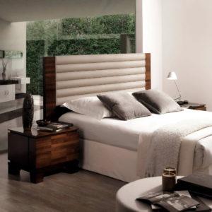 Dormitorio cama tapizada Quorum-3Q6158-4-30 by HURTADO en muebles antoñán® León