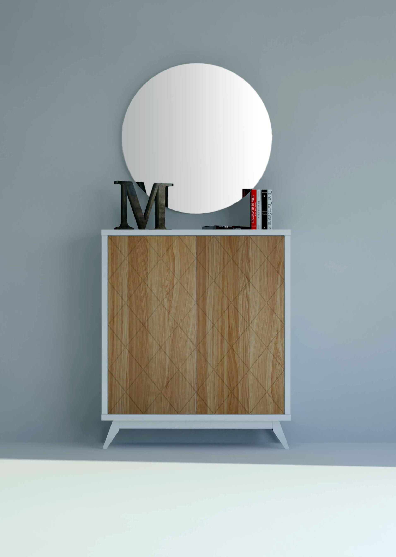 Mueble de entrada blanco amazing mueble entrada con espejo villalba with mueble de entrada - Mueble entrada segunda mano ...