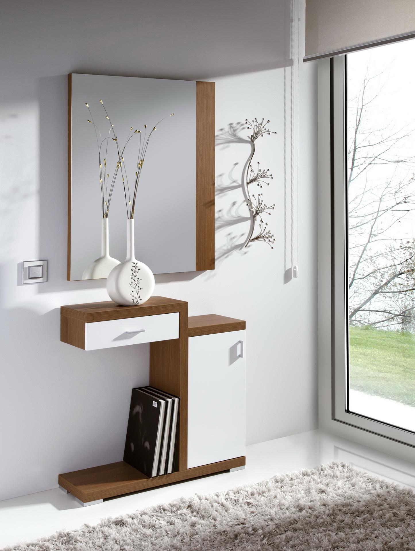 Herdasa l nea eco entradas medida reducida muebles anto n - Muebles de entrada pequenos ...