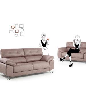 Sofá deslizante md. GOYA01 by Mayor Tapizados en muebles antoñán® León