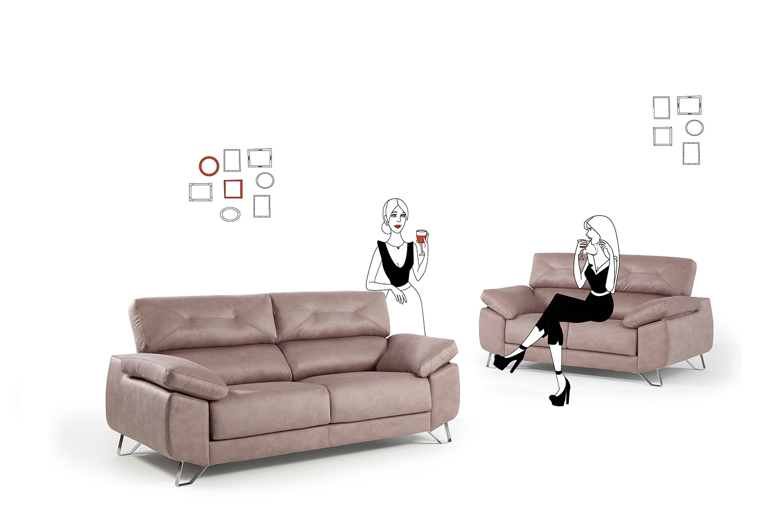 Goya sof deslizante by mayor tapizados muebles anto n for Muebles en leon baratos