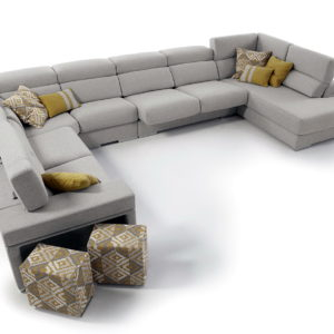 Sofá modular a medida md. ALEGRIA 6191LOTUS by Mayor Tapizados en muebles antoñán® León