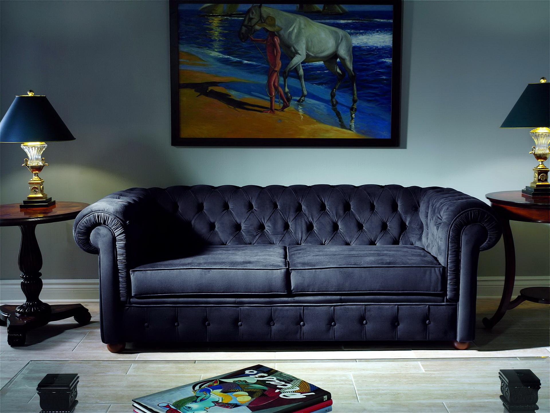 Sofa Chester 3 seat by Hurtado Furniture en muebles antoñán® León