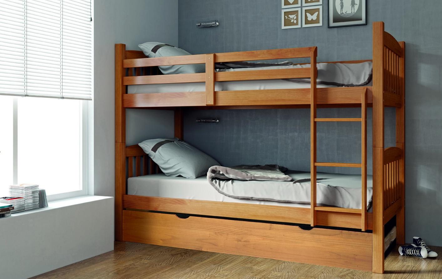 Camas literas de madera las camas literas son una gran - Cama litera de madera ...