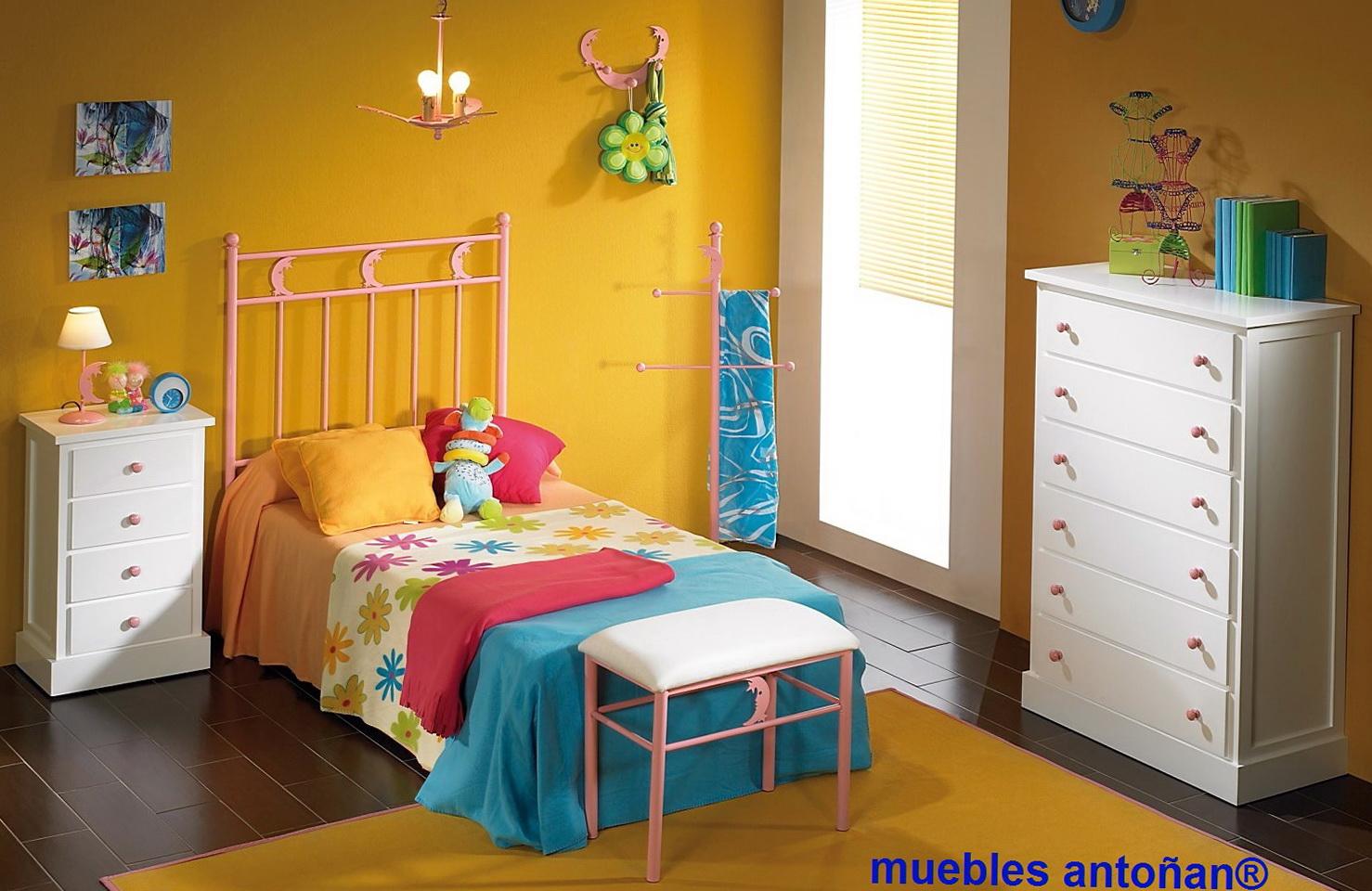 Forja cruz cuenca dormitorio infantil en forja muebles - Muebles en forja ...