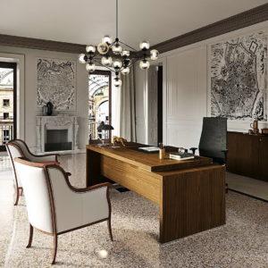 Despacho Moderno Italiano MILANO serie President by NEWFORM Ufficio en muebles antoñán® León