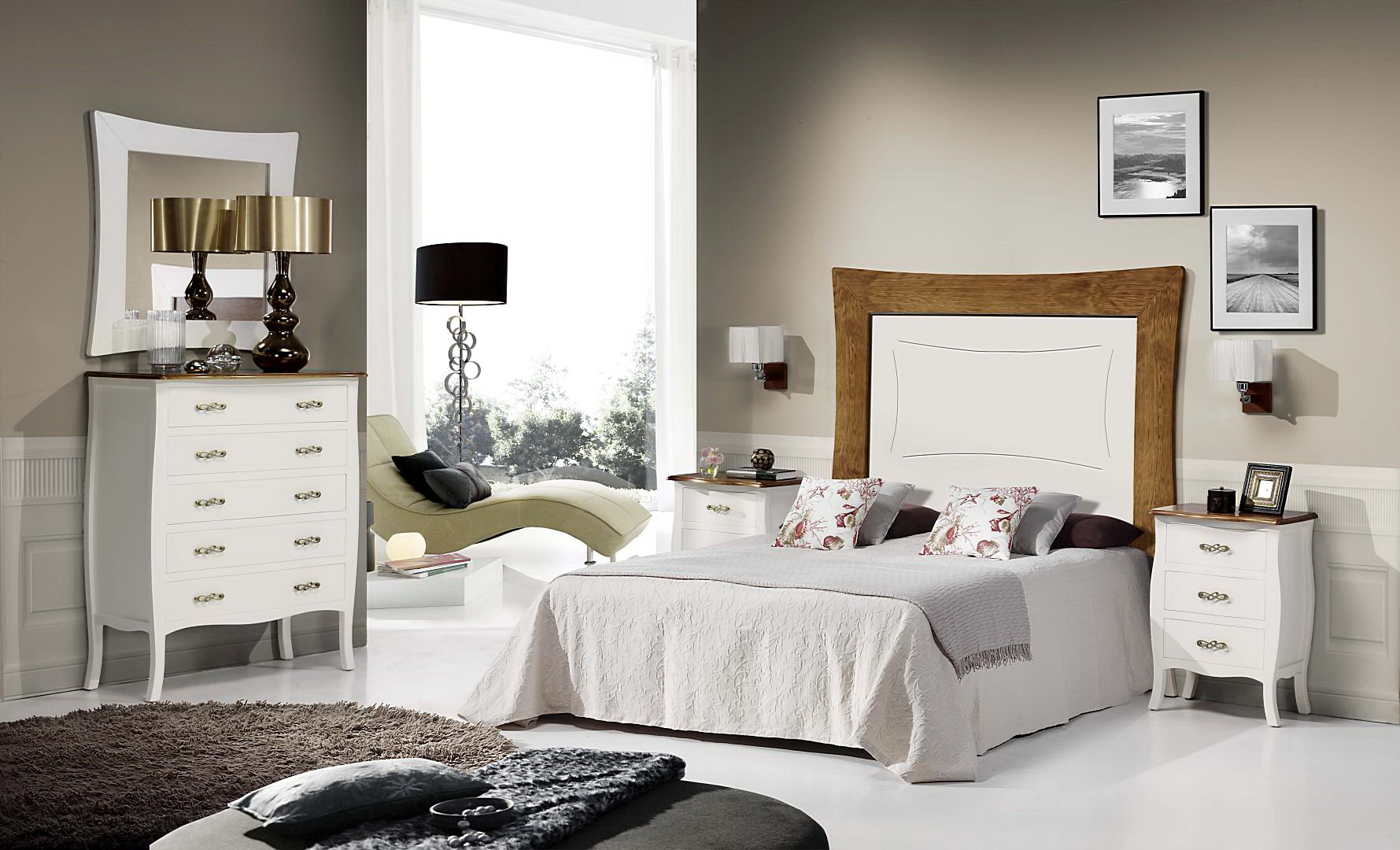 Dormitorio low cost alcazar by rgm muebles anto n for Muebles low cost