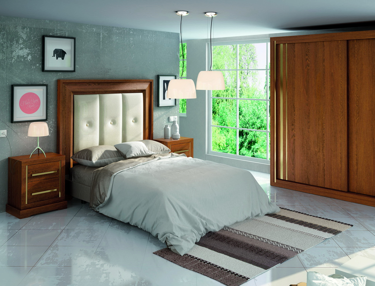 First collection dormitorio by p espejo muebles anto n for Muebles en leon baratos