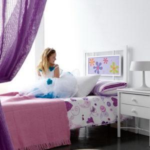 Dormitorio Juvenil en Forja by Jayso en muebles antoñán® León