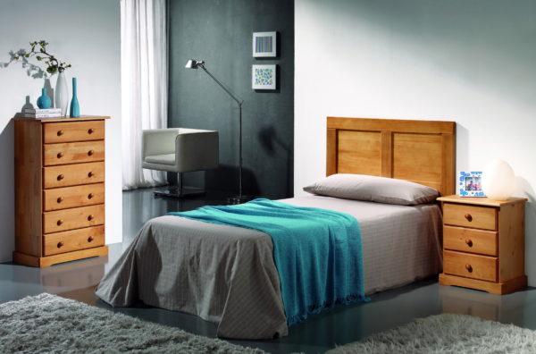 Dormitorio Low Cost Provenzal 0002 by Ferrandis en muebles antoñán® León