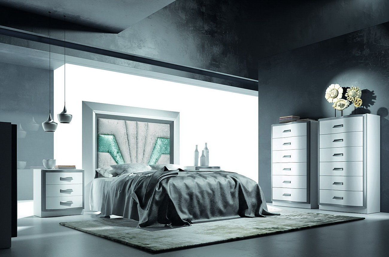 Essenza collection dormitorio by p espejo muebles anto n for Grupo espejo muebles