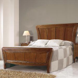 Dormitorio Neoclásico modelo LEÓN en MADERA DE ROBLE by Maecu 04 en muebles antoñán® León