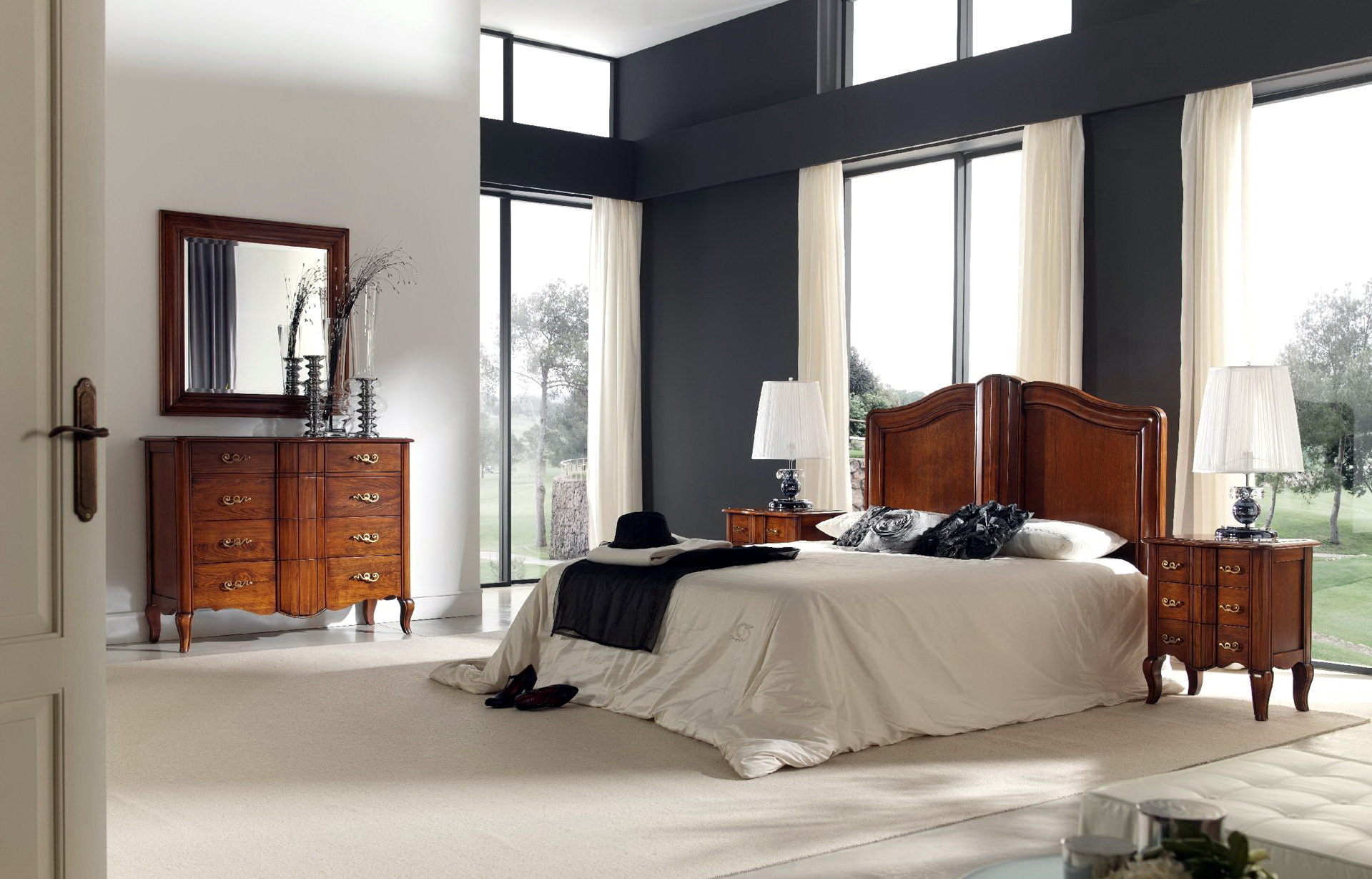 Dormitorio clásico PALAZZO TRADITION 007 by Toscano en muebles antoñán® León