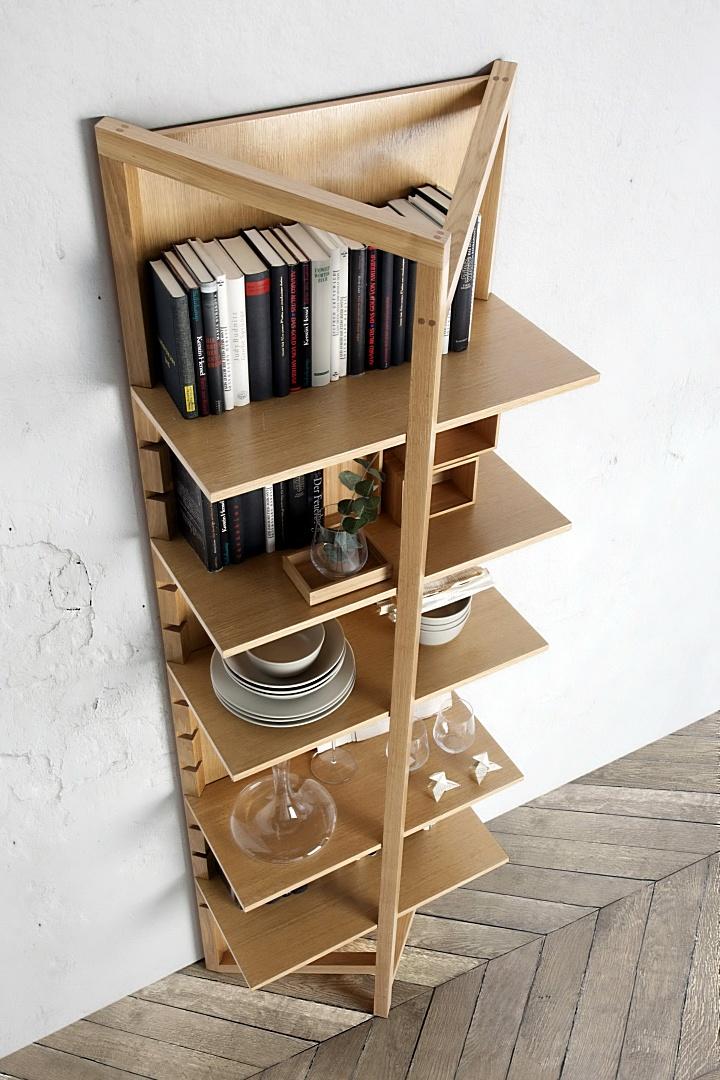 Librero moderno E-TREE BOOK D01 by Nacher® en muebles antoñán® León