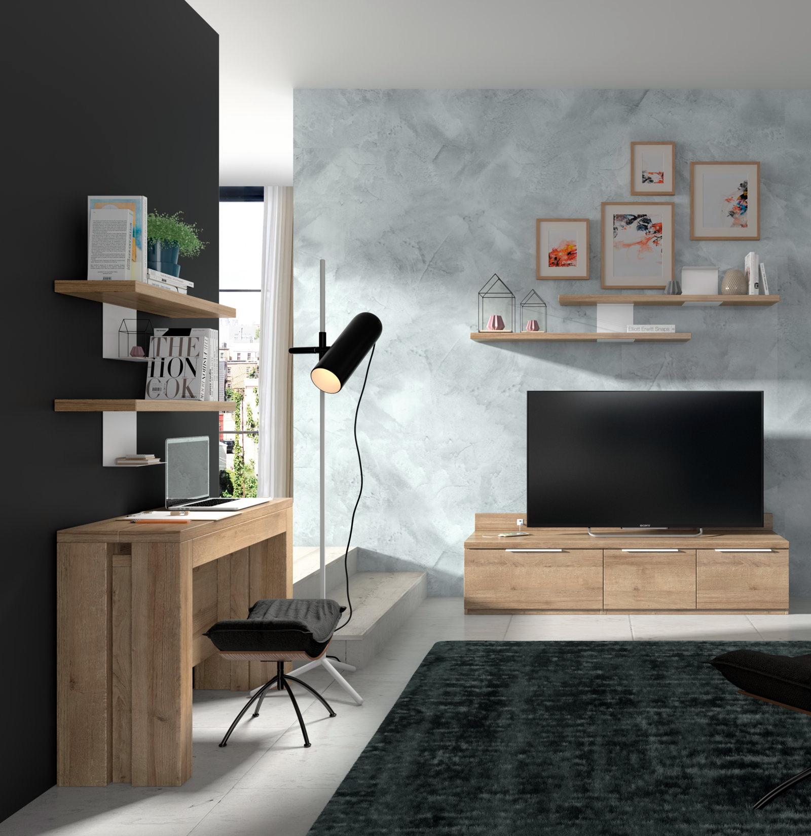 MESA CONSOLA EXTENSIBLE salón moderno UNO.5 U5143 by Salcedo Mueble en muebles antoñán® León