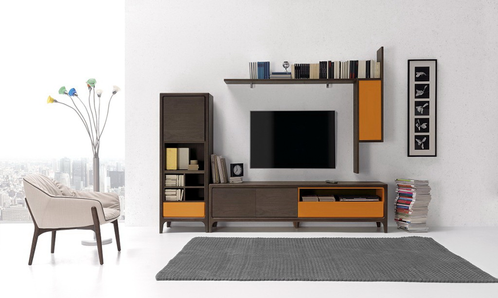 Optimum sal n n rdico by nogalyecla muebles anto n for Muebles salon estilo nordico