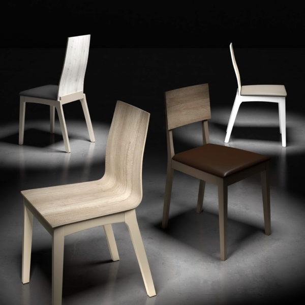 Sillas modernas by pinald muebles anto n for Muebles en leon baratos