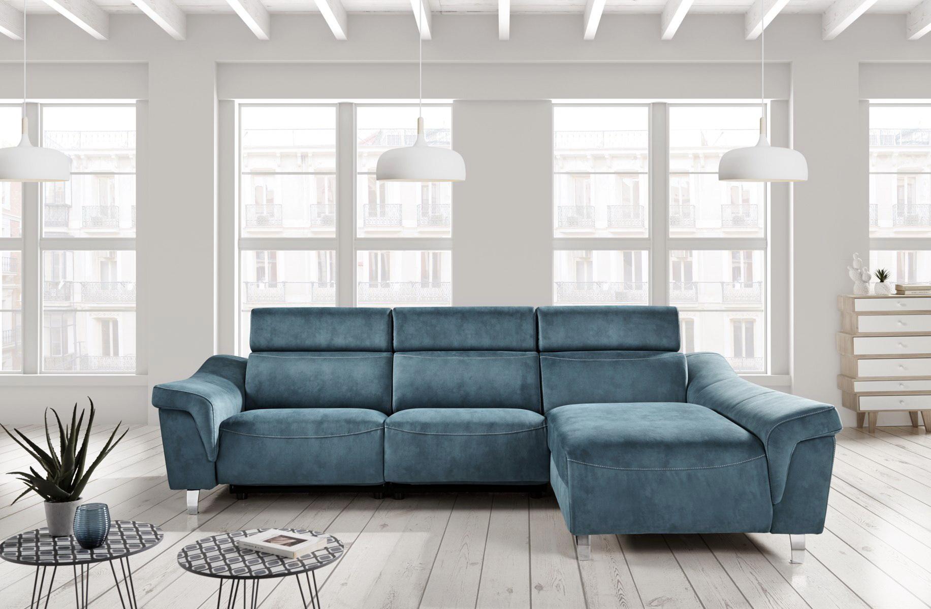 Sofá chaise-longue relax motorizado ALASKA 2 by Future Design Confort en muebles antoñán® León