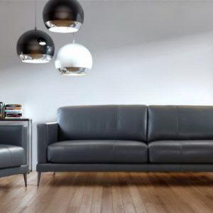 Sofá grande y butaca BOX by LOSBU TAPIZADOS en muebles antoñán® León