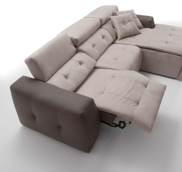 Sofá modular MD. CLAR chaise longue 2 by Vizcaíno Tapizados en muebles antoñán® León
