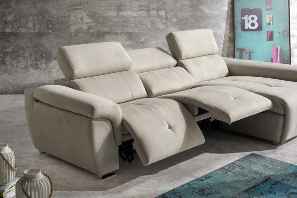 BONY sofá modular relax motorizado by Vizcaíno Tapizados en muebles antoñán® León (2)