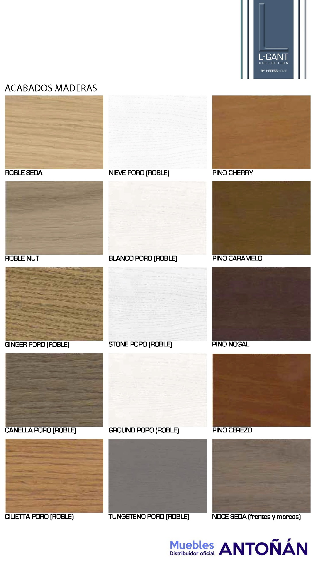 Colores 1 Muebles de Salón LGANT BY HERESS HOME en muebles antoñán® León