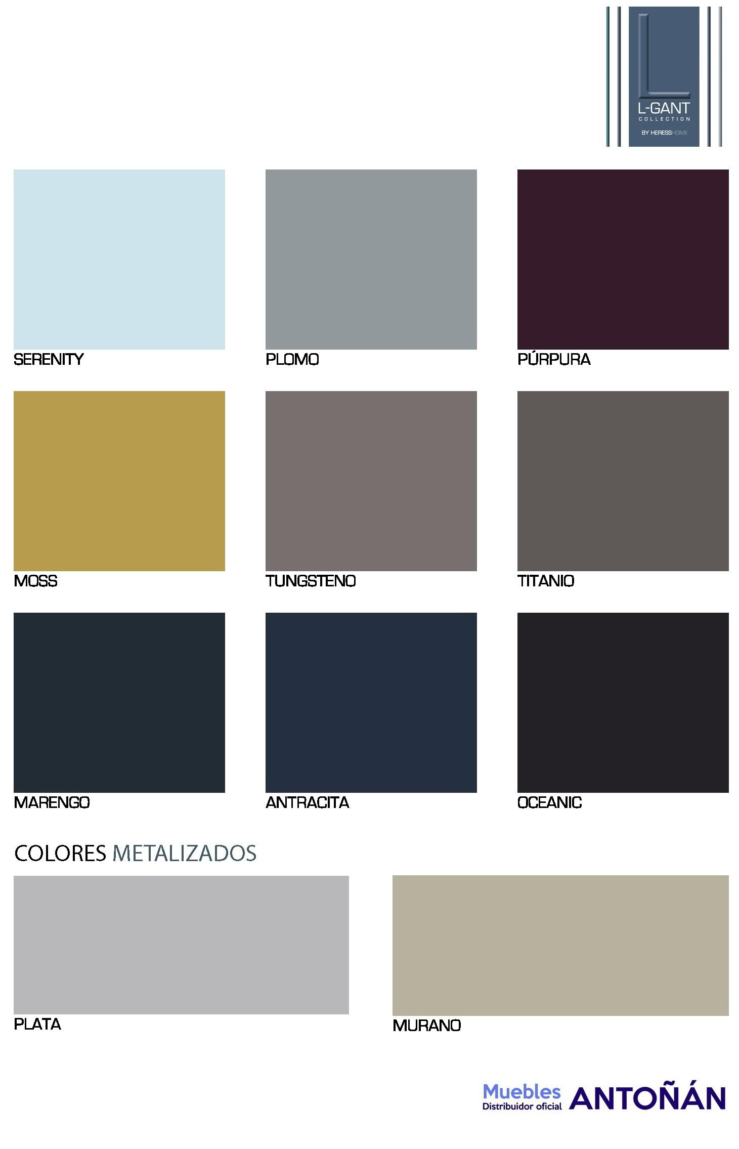 Colores 3 Muebles de Salón LGANT BY HERESS HOME en muebles antoñán® León