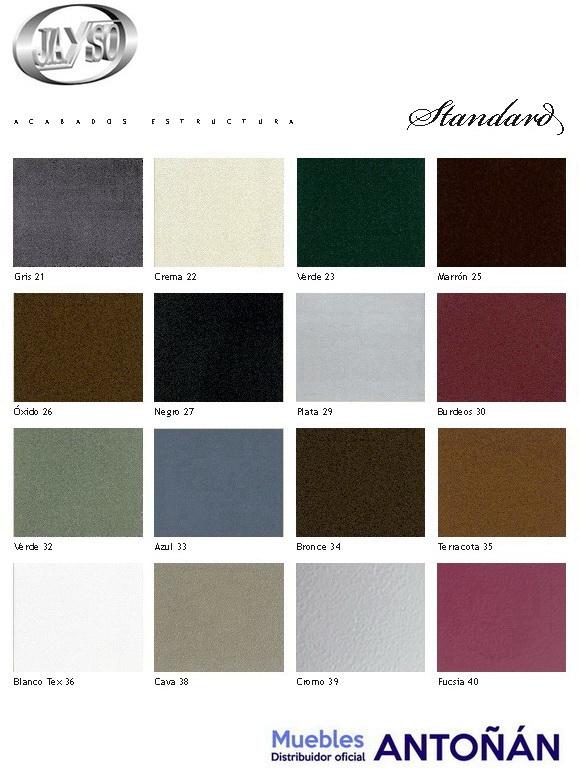 Colores Acabados para los dormitorios de Forja de la marca Jayso en muebles antoñán® León 1