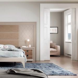 Dormitorio Contemporáneo L-GANT Ambiente25 by HeressHome en muebles antoñán® León