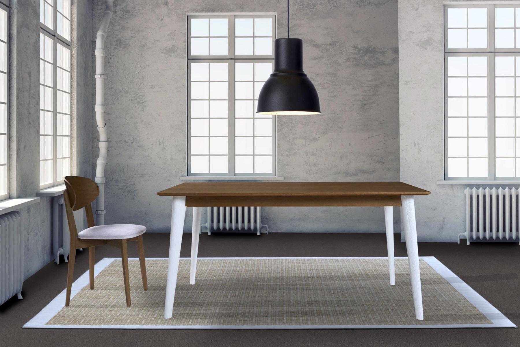 Mesas comedor madera arenada by ecopin muebles anto n for Muebles en leon baratos