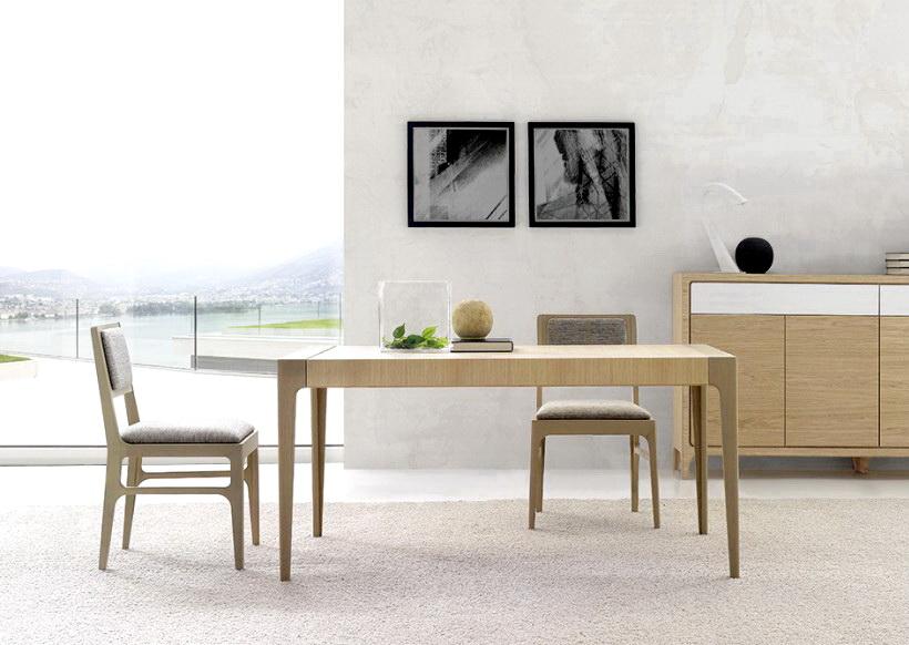 Mesa comedor estilo n rdico by nogalyecla muebles anto n - Comedor nordico ...