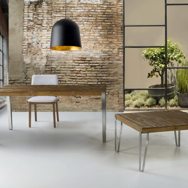 Mesas comedor estilo industrial by ecopin muebles anto n for Muebles estilo industrial baratos