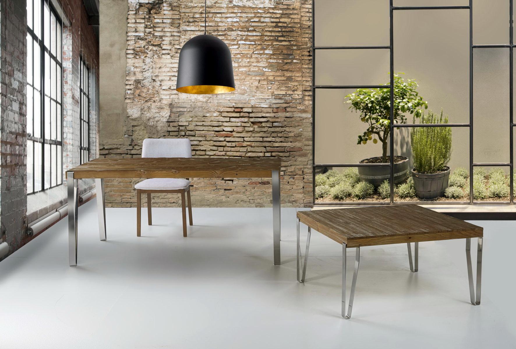 Mesas comedor estilo industrial by ecopin muebles anto n for Muebles de estilo industrial barato