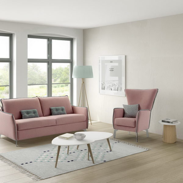Martina sof moderno by mayor tapizados muebles anto n for Muebles en leon baratos