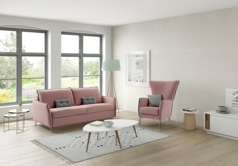 Martina sof moderno by mayor tapizados muebles anto n - Muebles en leon ...