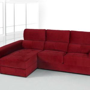 Sofá modular chaise longue MOD-TITAN-1 by Requena Tapizados en muebles antoñán® León